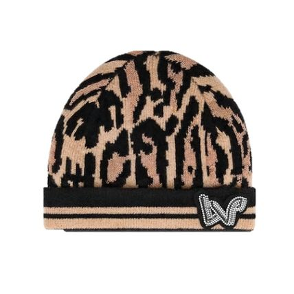 Louis Vuitton 2019-20AW LEOGRAM HAT leopard kint hats