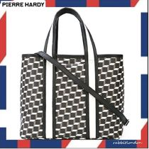 Pierre Hardy 2WAY Leather Totes