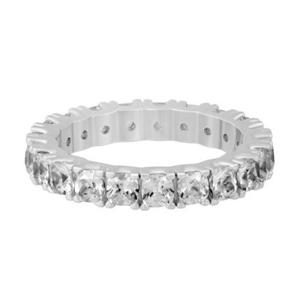 Costume Jewelry Silver Elegant Style Rings