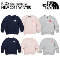 THE NORTH FACE Unisex Blended Fabrics Street Style Kids Girl Tops