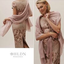 BHLDN Wool Silk Plain Long Boleros & Shawls