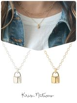 Ron Herman Casual Style Street Style 18K Gold Necklaces & Pendants