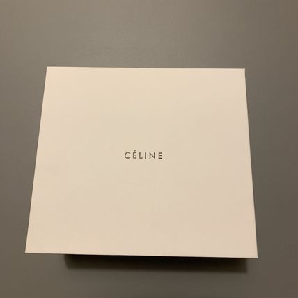 CELINE Alphabet A Necklace In Brass With Gold Finish