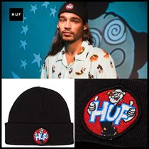 HUF Unisex Street Style Collaboration Knit Hats