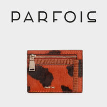 PARFOIS Other Animal Patterns Leather Card Holders