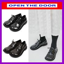 OPEN THE DOOR Casual Style Street Style Plain Shoes