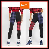 Nike Other Check Patterns Street Style Cotton Leggings Pants