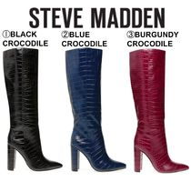Steve Madden Casual Style Plain Other Animal Patterns Party Style