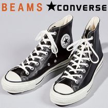 CONVERSE Collaboration Plain Leather Sneakers