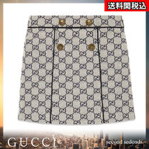 GUCCI Blended Fabrics Kids Girl  Bottoms