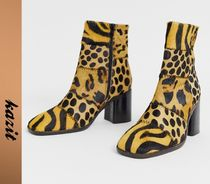 ASOS Leopard Patterns Casual Style Other Animal Patterns Leather