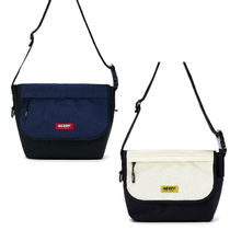 NERDY Casual Style Unisex Street Style Plain Shoulder Bags