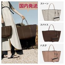 State of Escape Unisex Blended Fabrics A4 Plain Totes