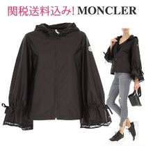 MONCLER ADDIS Short Nylon Plain Outerwear