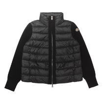 MONCLER Short Wool Nylon Jackets