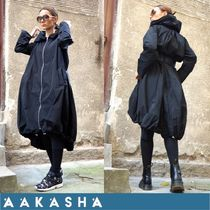 Aakasha Plain Long Handmade Trench Coats