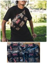 Supreme Camouflage Unisex Street Style Bags