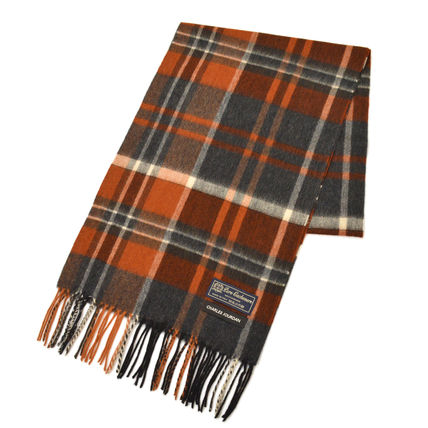 Other Plaid Patterns Unisex Cashmere Fringes Bridal Logo