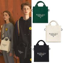 MSKN2ND Casual Style Unisex Canvas Street Style Collaboration 3WAY