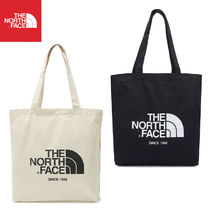 THE NORTH FACE WHITE LABEL Casual Style Unisex Canvas 2WAY Plain Totes