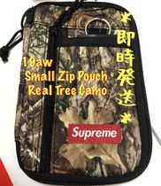 Supreme Camouflage Unisex Street Style Wallets & Small Goods