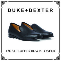 Duke & Dexter Plain Leather Handmade Loafers & Slip-ons