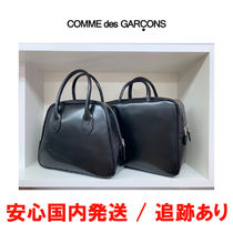 COMME des GARCONS Casual Style Unisex A4 Plain Leather Party Style
