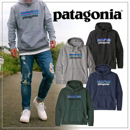 Patagonia Hoodies Unisex Plain Logo Outdoor Hoodies