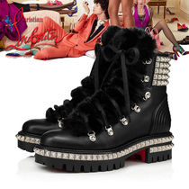 Christian Louboutin Casual Style Studded Street Style Boots Boots