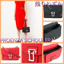 Proenza Schouler Casual Style Chain Leather Shoulder Bags