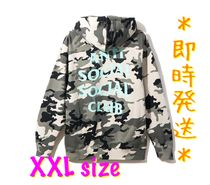 ANTI SOCIAL SOCIAL CLUB Pullovers Camouflage Unisex Street Style Long Sleeves