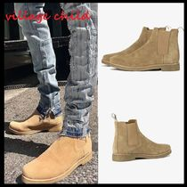 MNML Street Style Plain Chelsea Boots Chelsea Boots