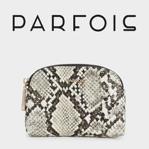 PARFOIS Other Animal Patterns Leather Python Pouches & Cosmetic Bags