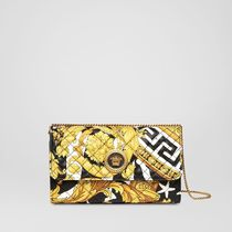 VERSACE Zebra Patterns Star Chain Other Animal Patterns Leather