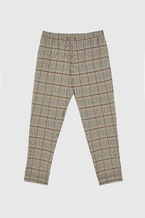 ZARA Cropped Other Check Patterns Cropped Pants 2