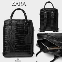 ZARA Faux Fur 2WAY Other Animal Patterns Backpacks