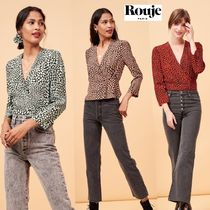 Rouje Long Puff Sleeves Shirts & Blouses