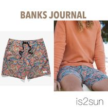 BANKS Street Style Plain Beachwear