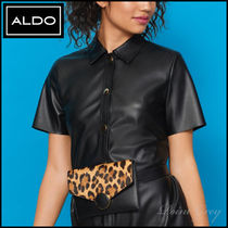 ALDO [ALDO] Leopard 2Way Shoulder / Belt Bag - Dwigode
