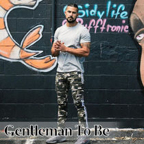Gentleman To Be Stripes Camouflage Street Style Cotton Jeans & Denim