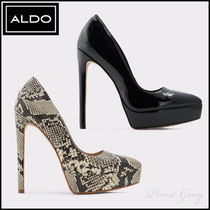 ALDO [ALDO] Elegant Python Platform High-heel Pumps - Yellowfin