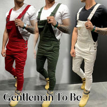 Gentleman To Be Street Style Cotton Jeans & Denim