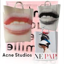 Acne Baker out Casual Style Unisex 2WAY Totes