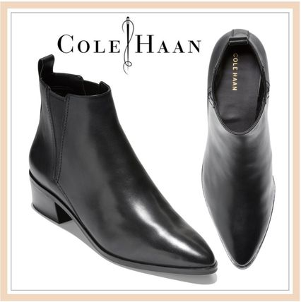 value for money diversified latest designs variousstyles Cole Haan Casual Style Suede Plain Chelsea Boots Office Style