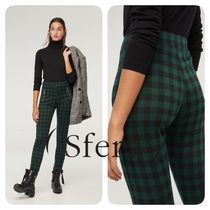 Sfera Other Check Patterns Casual Style Medium Skinny Pants