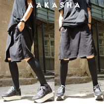 Aakasha Short Casual Style Unisex Plain Cotton Medium Handmade