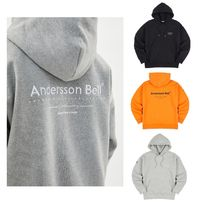 ANDERSSON BELL Unisex Street Style Plain Home Party Ideas Hoodies