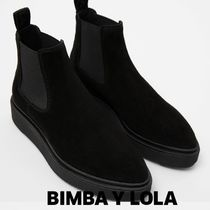 bimba & lola Suede Plain Ankle & Booties Boots