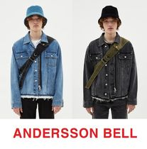ANDERSSON BELL Unisex Street Style Plain Home Party Ideas Jackets