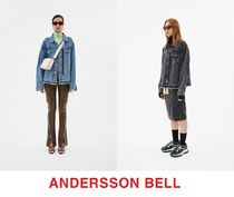 ANDERSSON BELL Unisex Street Style Plain Jackets